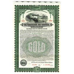 Rensselaer and Saratoga Railroad Co., 1921 Specimen Bond