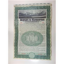 Hudson & Manhattan Railroad Co., 1907 Specimen Bond