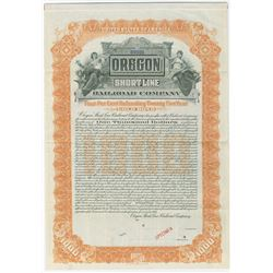 Oregon Short Line Railroad Co., 1904 Specimen Bond
