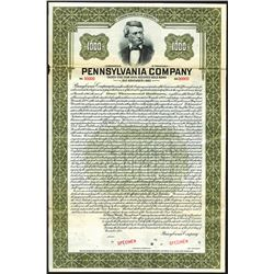 Pennsylvania Company, 1928, 35 Year 4 3/4% Secured Gold Coupon Bond.