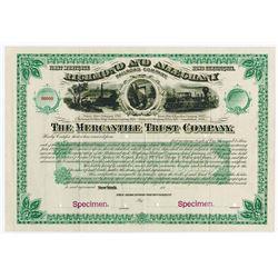 Richmond and  Alleghany Railroad Co., 1880 Specimen Bond.