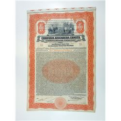 Ermita Sugar Co., 1922 I/U Bond.