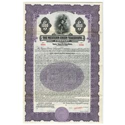 Western Union Telegraph Co., ca.1930 Specimen Bond