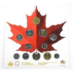 2017 'MY CANADA - MY INSPIRATION' Coin Collection