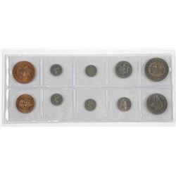 Lot (10) Coins - New Zealand
