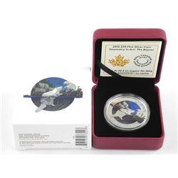 2016 .9999 Fine Silver $20.00 Coin 'Geometry in Ar