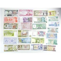 Estate Lot - (50) World notes 50 Different Countri
