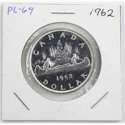 1962 Canada Silver Dollar PL-64