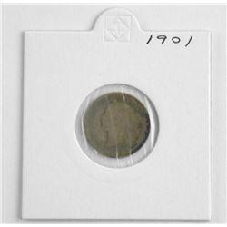 1901 VICTORIA 10 Cent