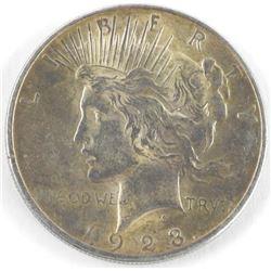 1923 USA Silver Peace Dollar