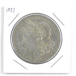 USA Morgan Silver Dollar 1921