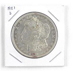 USA Morgan Silver Dollar 1921 (d)