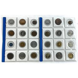Lot (24) Tokens and Medals
