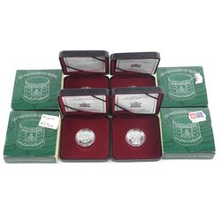 Lot (4) 925 Sterling Silver 2000 - 5 Cents