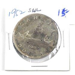 1952 Canada Silver Dollar.