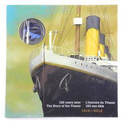 1912-2012 Titanic Colour Coin Folio