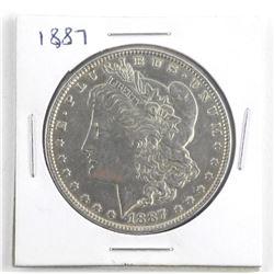 1887 USA Silver Morgan Dollar