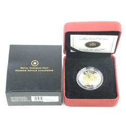 2007 925 Silver 50 Cent Coin Golden Forget Me Not. LE/C.O.A.