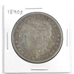1890 S USA Silver Morgan Dollar
