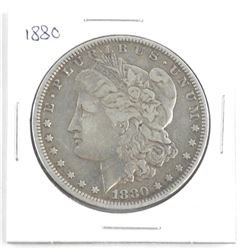 1880 USA Silver Morgan Dollar