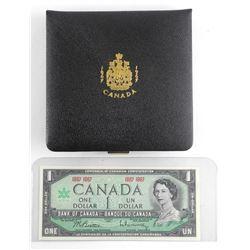 1867-1967 Silver Coin Set with Centennial Bank of Canada 1.00