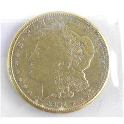 1921 USA Silver Dollar Morgan