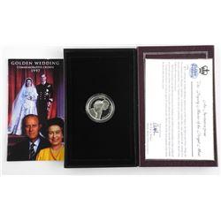 Golden Wedding Commemorative Crown 1997