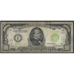 1934 $1000 Federal Reserve Note Minneapolis