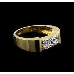 0.53 ctw Diamond Ring - 14KT Yellow Gold