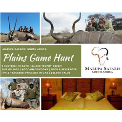 Plains Game for 2 Hunters