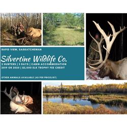 Elk Hunt in Saskatchewan