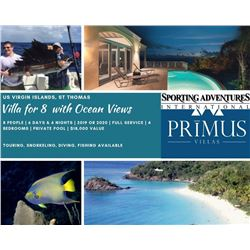 Villa for 8 People in St Thomas