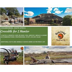 South Africa Crocodile