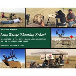 Long Range Shooting School for 4 Brought to you by Best of the West and Long Range Store Canada