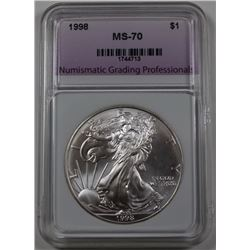 1998 AMERICAN SILVER DOLLAR