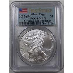 2013(S) AMERICAN SILVER EAGLE