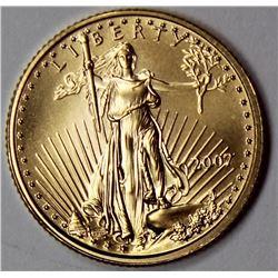 2007 FIVE DOLLAR AMERICAN GOLD EAGLE
