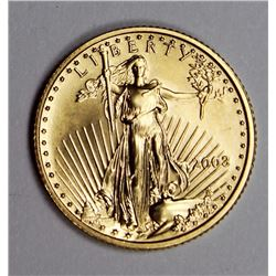 2003 FIVE DOLLAR AMERICAN GOLD EAGLE