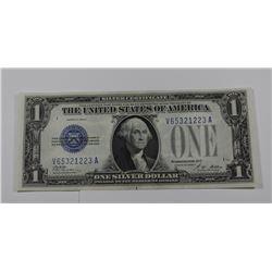 1928 A ONE DOLLAR SILVER CERT