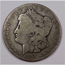 1892 CC MORGAN $ G