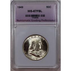 1949 FRANKIN HALF DOLLAR