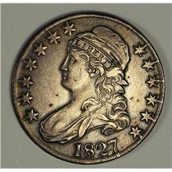 1827 BUST HALF DOLLAR