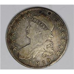 1818/17 BUST HALF DOLLAR FINE +