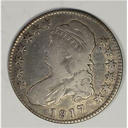 1817 BUST HALF DOLLAR
