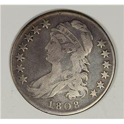 1808 BUST HALF DOLLAR FINE