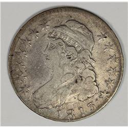 1813 BUST HALF DOLLAR VF/XF