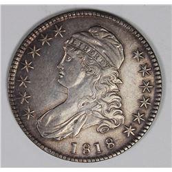1818 BUST HALF DOLLAR