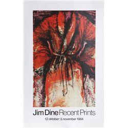 Jim Dine, Recent Prints, Poster