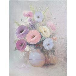 Warren Edwards, Floral Still Life 3, Oil Painting
