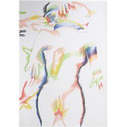 Marisol Escobar, Rainbow People, Lithograph